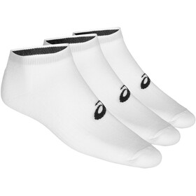 asics Ped Running Socks 3 pack white